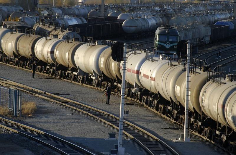 گازوئیل با قطار